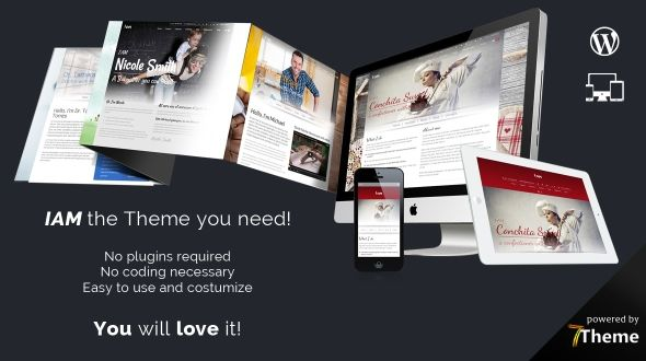 IAM – WordPress Multipurpose Theme