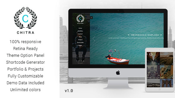 Chitra – Photography Portfolio WordPress Theme