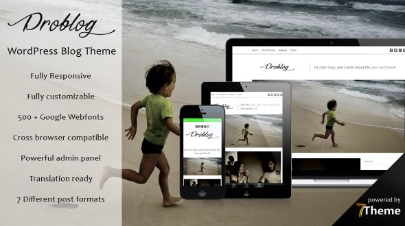 Problog – Responsive WordPress Blogging Theme