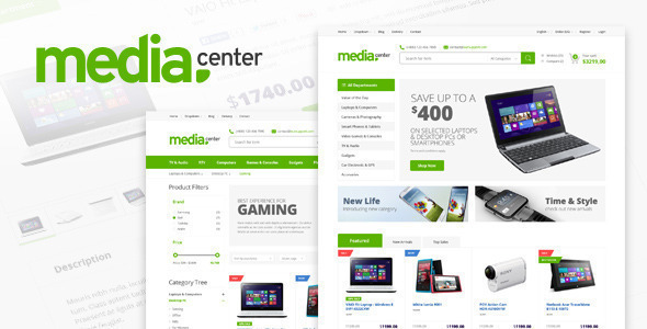 MediaCenter – Electronics Store WooCommerce Theme