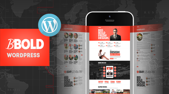 BBold Multipurpose Responsive WordPress Theme