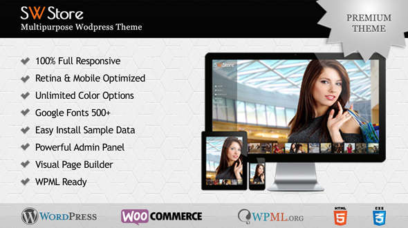 SW-Store Multipurpose WordPress Theme