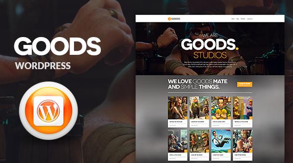 Goods Multipurpose Responsive WordPress Theme