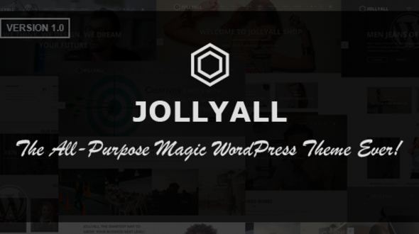 Jollyall – Creative Responsive WordPress Business Theme