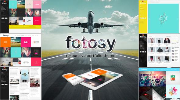 Fotosy – Responsive Portfolio WordPress Theme