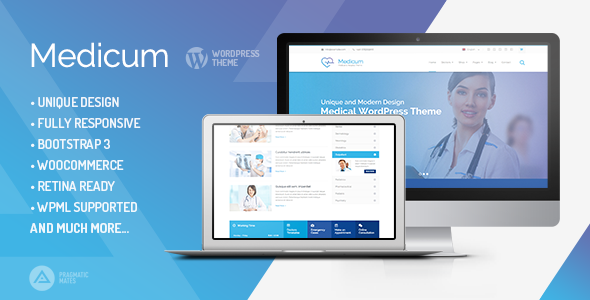Medicum – Health & Medical WordPress Theme