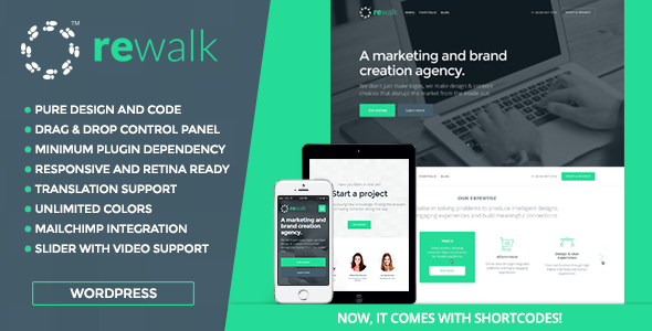 ReWalk – Business WordPress Theme